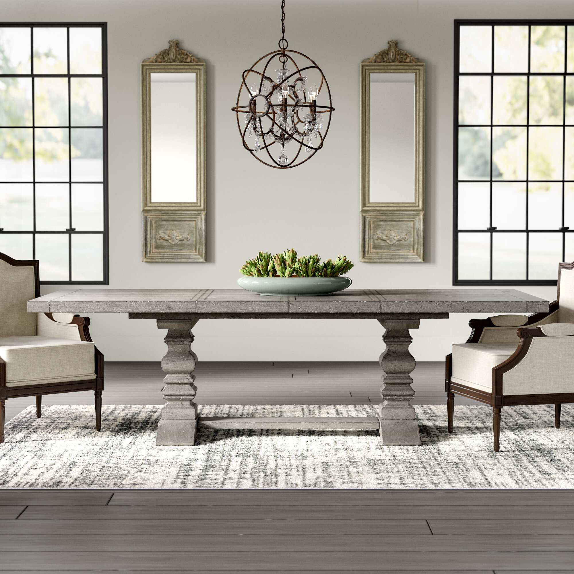 Blue Grey Kitchen Dining Tables You Ll Love In 2021 Wayfair