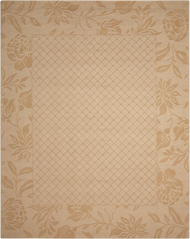 Barcelona hand loomed light gold area rug reviews perigold for Kitchen gadgets barcelona