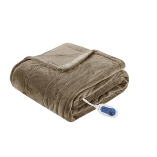 Heated Plush Oversized Throw