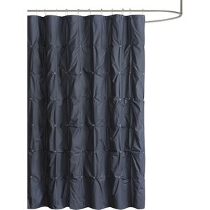 dark blue shower curtain. Masie Cotton Shower Curtain Blue Curtains You ll Love
