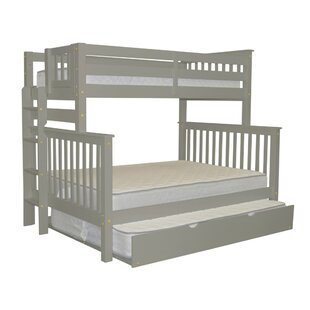 Online Reviews Treva Twin over Full Bunk Bed with Full Trundle By Harriet Bee