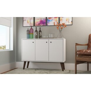 Anika Buffet Stand with 3 Shelves and 3 Doors Turn on the Brights