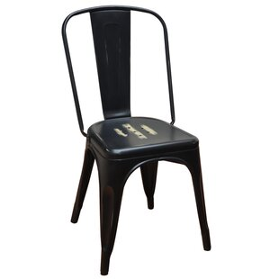 Stackable Steel Tolix Side Chair by DHC Furniture