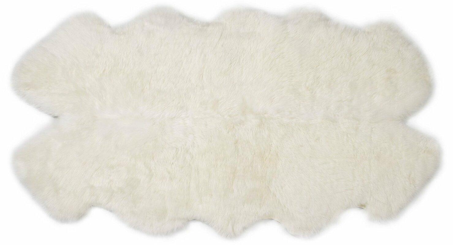 Quarto Handmade Ivory/White Area Rug