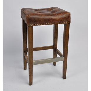 Cosentino Leather 25 Bar Stool DarHome Co