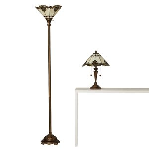 Savill 2 Piece Table and Floor Lamp Set