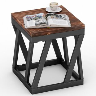 Jaylene Solid Wood End Table