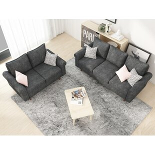 Cyr 2 Piece Living Room Set (Set of 2) by Wrought Studio