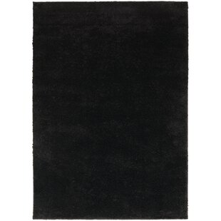 Best Price Hanson Black Area Rug By Threadbind