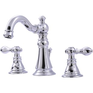 Compare & Buy Widespread Bathroom Faucet with Optional Pop-Up Drain Assembly By Ultra Faucets