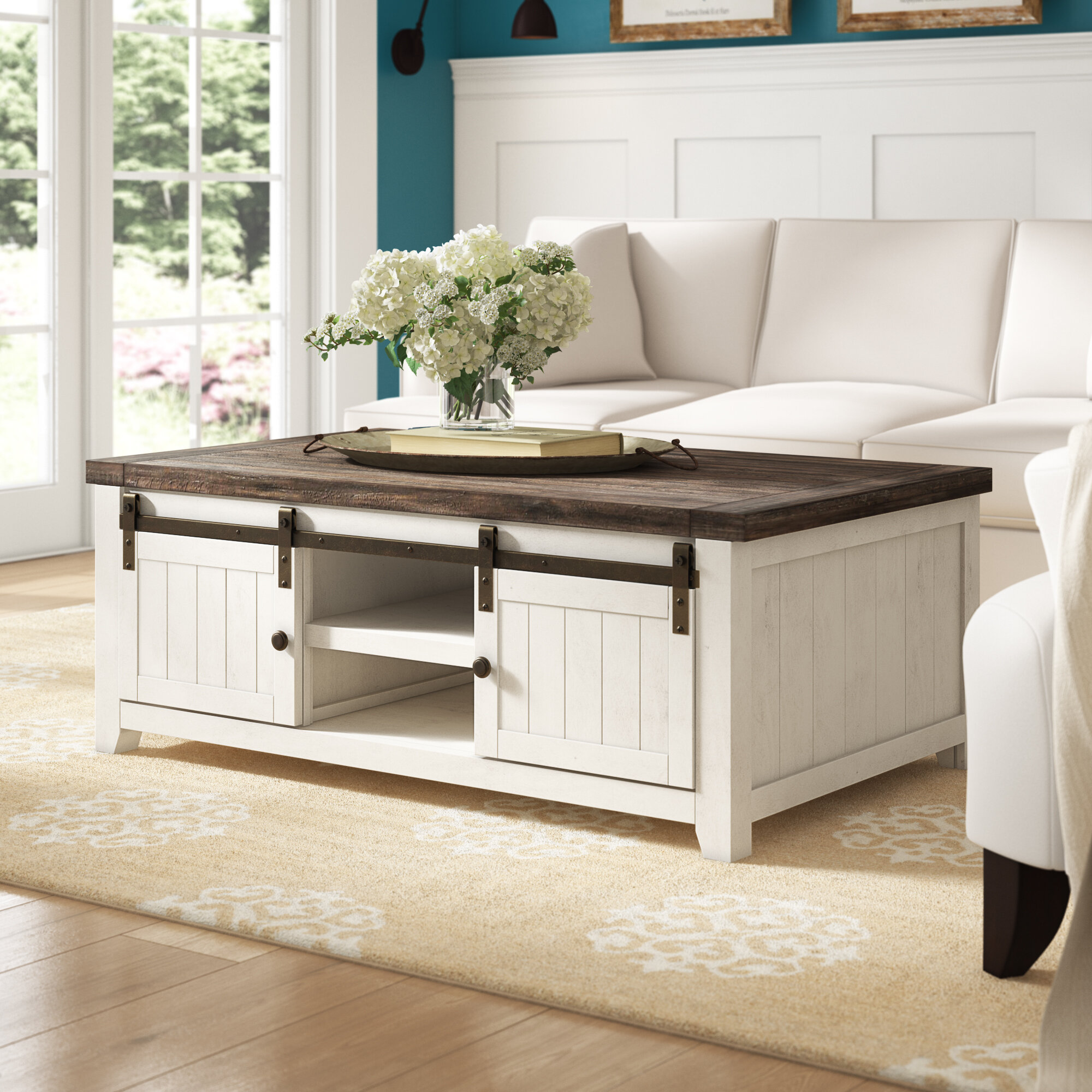 Cottage Country Coffee Tables Free Shipping Over 35 Wayfair