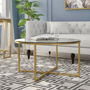 Review Andrew Coffee Table by Everly Quinn