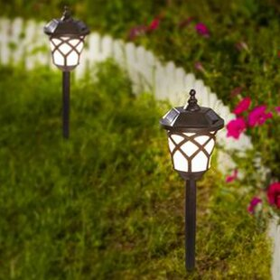 Traditional Solar 1-Light Pathway Light (Set of 2)