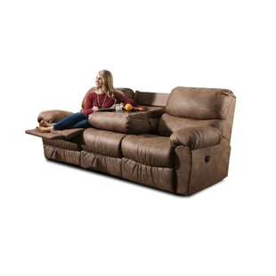 Alviso Reclining Sofa by Loon Peak