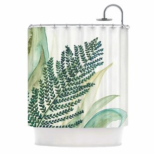 'Botanical Vibes 02' Single Shower Curtain