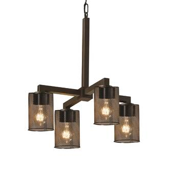 17 Stories Bennett 4 Light Shaded Classic Traditional Chandelier