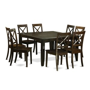Parfait 9 Piece Dinning Set by East West Furniture