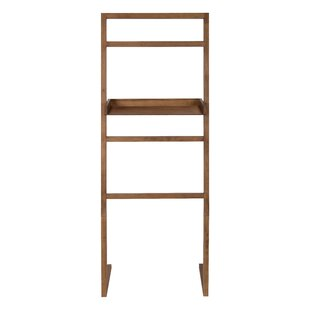 McGonigal Decorative Modern Wooden Leaner Ladder Wall Shelf
