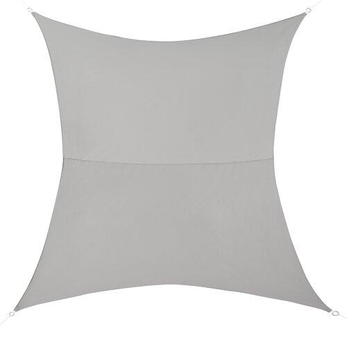 Sonnensegel 2,5x2,5 m Quadrat Regenschutz UV-Schutz Wasserabweisend Polyester