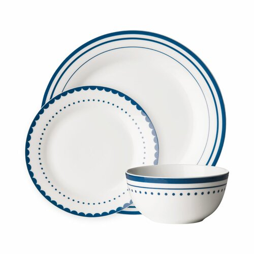 Blanch 12 Piece Dinnerware Set Beachcrest Home