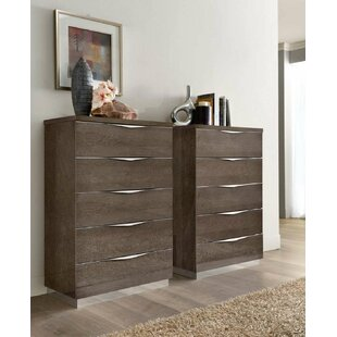 Fourche 5 Drawer Chest