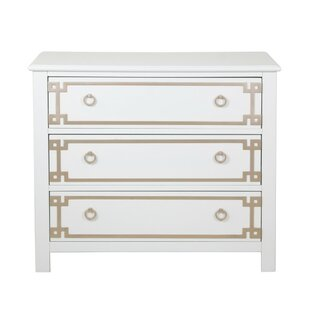 Dipasquale Overlay 3 Drawer Accent Chest
