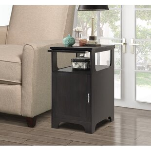 Lidya Rectangle End Table with Storage by Latitude Run