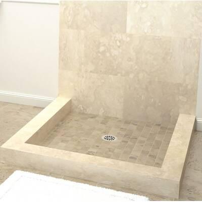 Muli Curb Shower Pan 36 X Triple Threshold Base