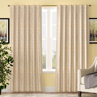 Westfall Polyester Thermal Single Curtain Panel by Astoria Grand