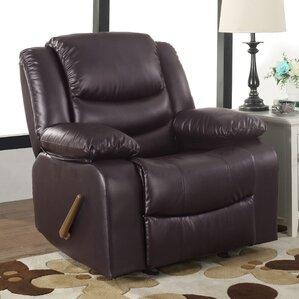 classic overstuffed recliner