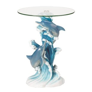Best Wave Dancers Dolphin End Table by Zingz & Thingz