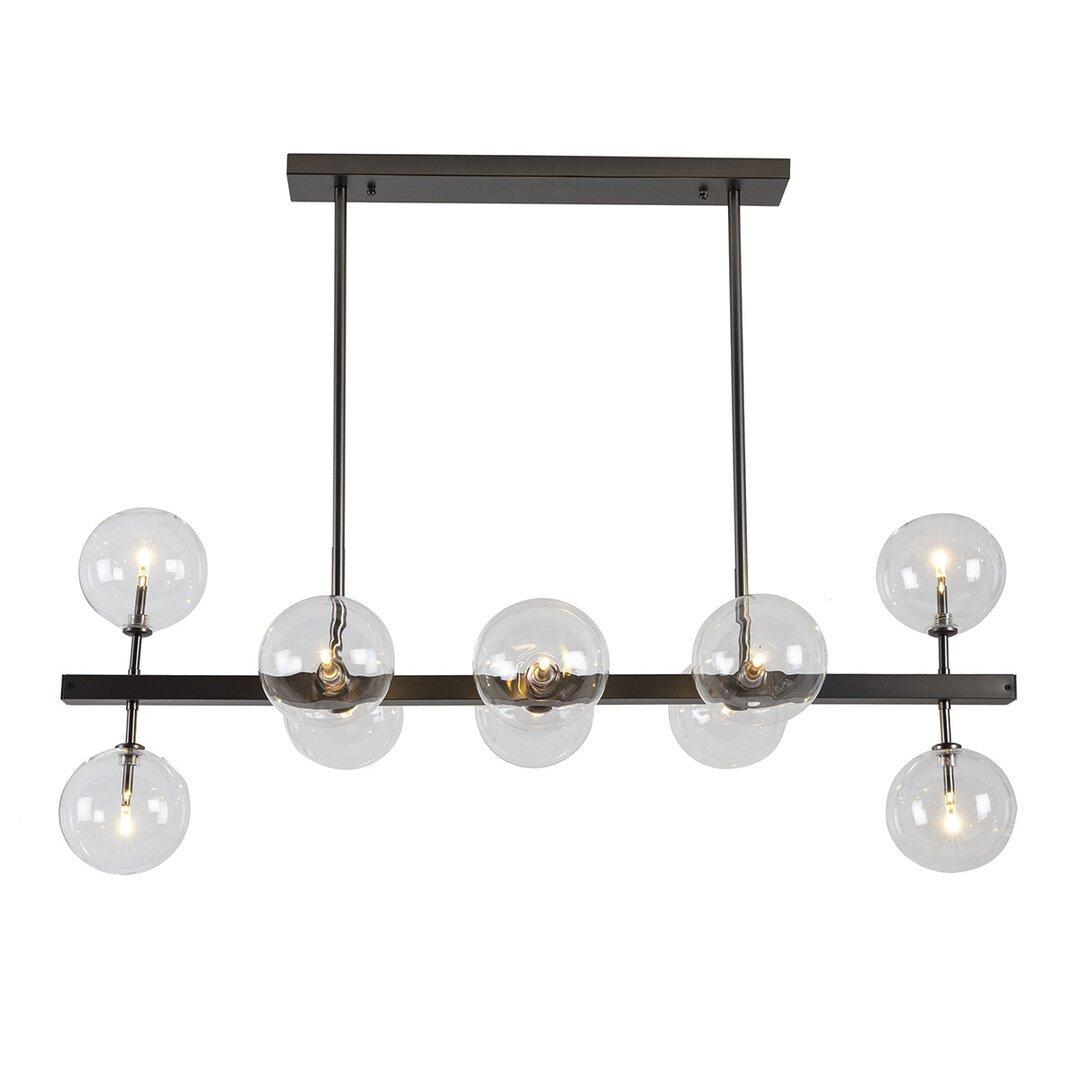 Juan 10- Light Novelty Linear Pendant