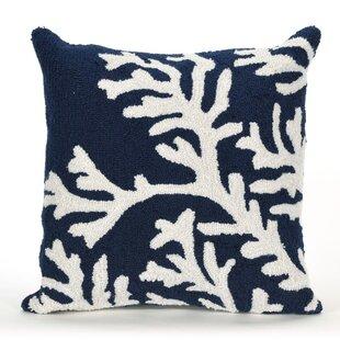 Adeliza Coral Indoor/Outdoor Throw Pillow