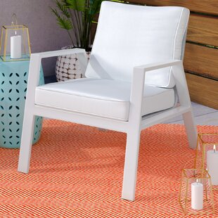 Reynosa Contemporary Patio Chair with Cushions