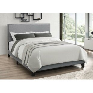 Draven Upholstered Panel Bed by Charlton Home