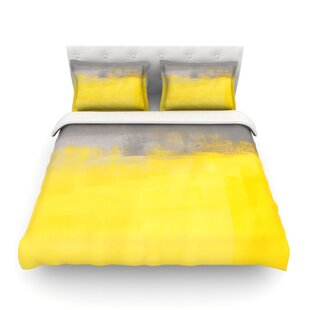 A Simple Abstract by CarolLynn Tice Featherweight Duvet Cover