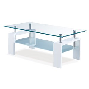 Small Frosted Glass Coffee Table Wayfair