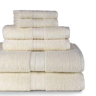 Luman 6 Piece Cotton Towel Set