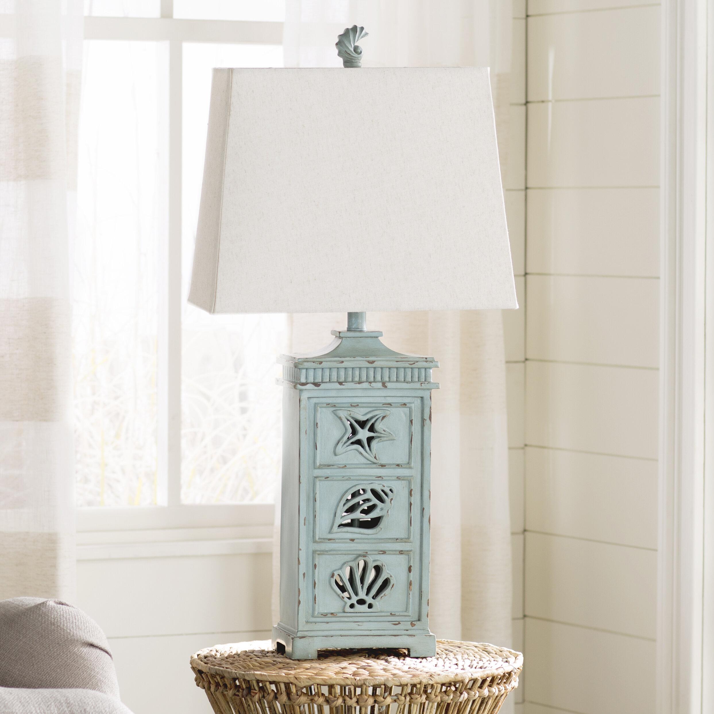 Jaycee coastal 33 table lamp