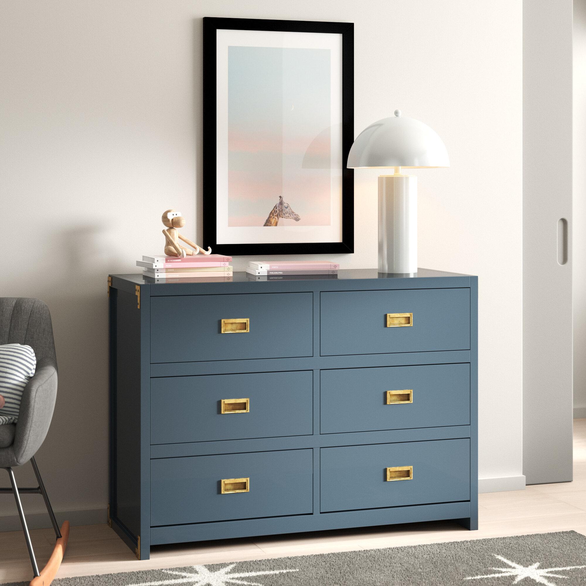 Benbrook 6 Drawer Double Dresser
