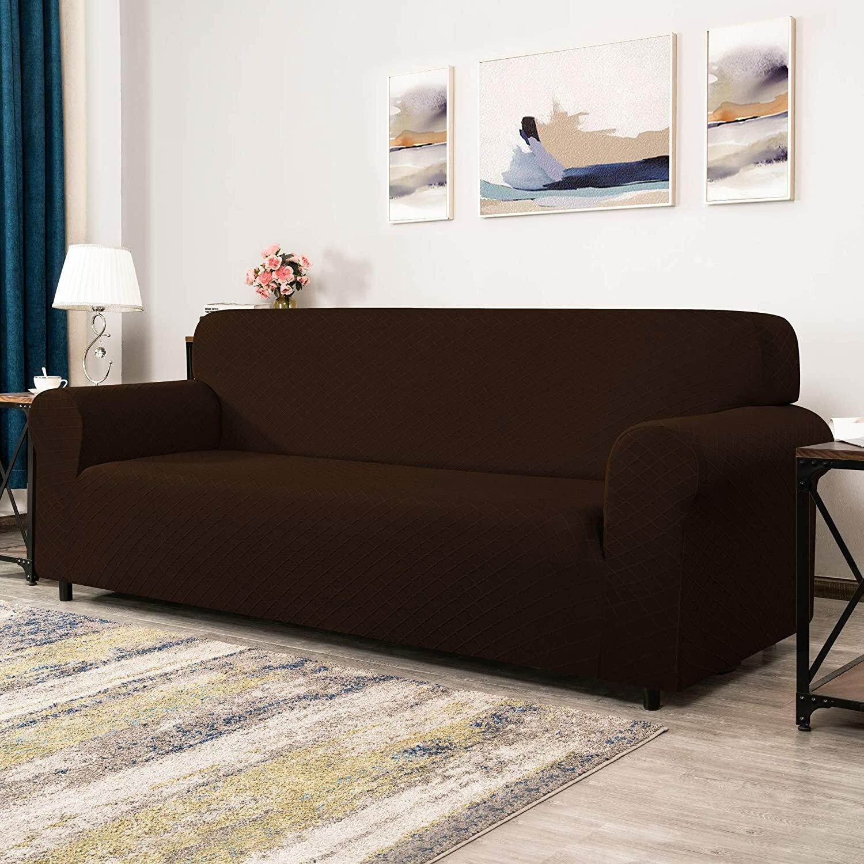 Ophelia Co Rhombus Soft Stretchy Box Cushion Loveseat Slipcover Wayfair Co Uk