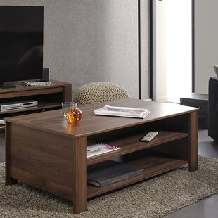 Tiago Coffee Table with Magazine Rack by Parisot
