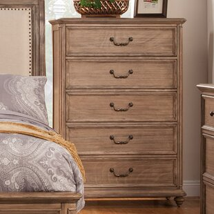 Joutel 5 Drawer Chest by One Allium Way Top Reviews