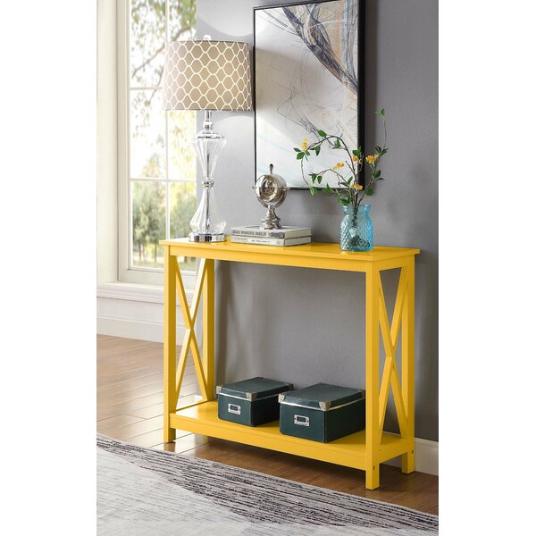 Prime Mustard Yellow Console Table Wayfair Machost Co Dining Chair Design Ideas Machostcouk