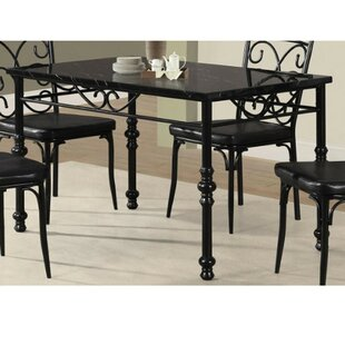 Glaude Metal Dining Table