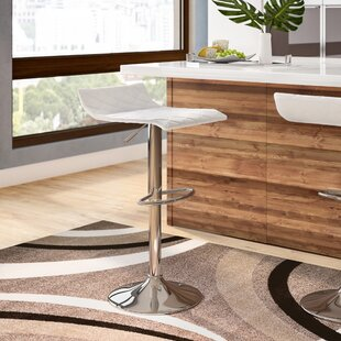 Morgana Adjustable Height Swivel Bar Stool