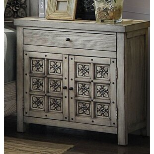 Bloomington 1 Drawer Nightstand by Bungalow Rose Modern
