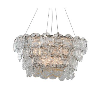 Deals Prelude 12-Light Chandelier By Viz Glass