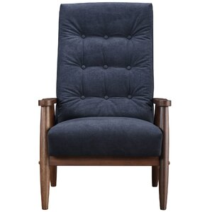 Harrison Mid Century Accent Armchair by Corr..