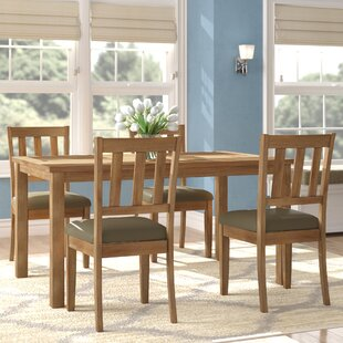 Zebulon 5 Piece Dining Set Andover Mills